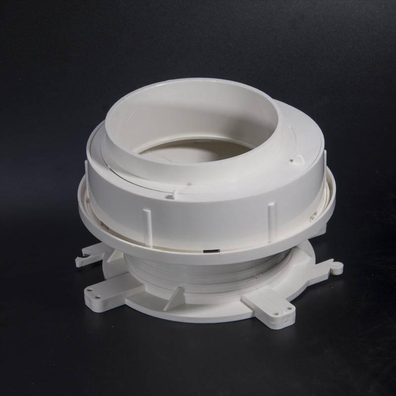 配件 同層排水雙調節預埋多功能積水器