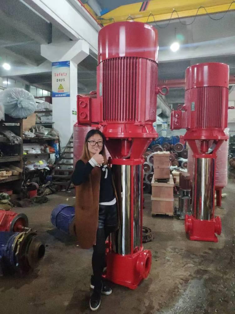 高层建筑增压泵 25GDL4-11*13 4KW 成都众度泵业