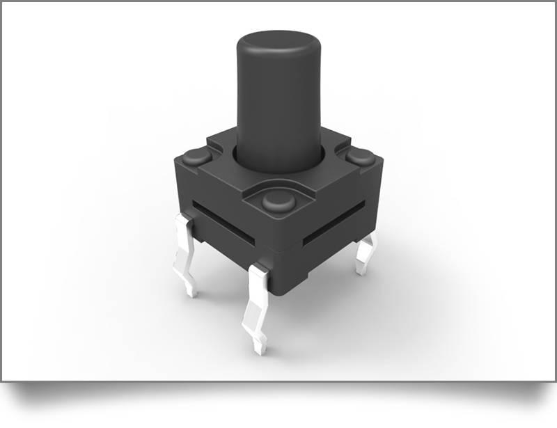 小型防水轻触开关的高清图片与规格,博瑞泰