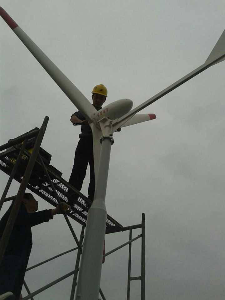 可带电暖气的风力发电机1000w风力利用率高