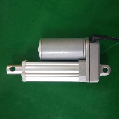 微型直流电动推杆 1200n负载 金属齿轮 小型电动推杆机图片