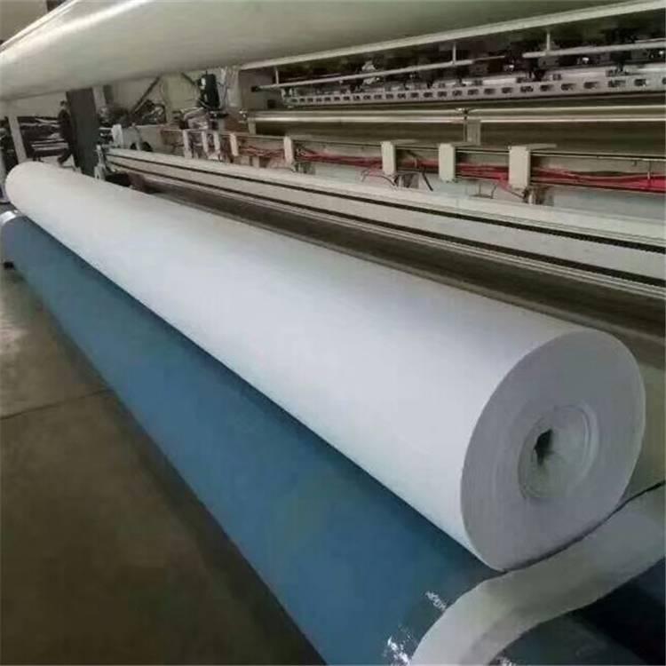 山东300克涤纶短纤国标土工布报价
