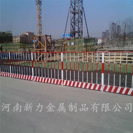 基坑护拦 基坑安全防护网 黄黑基坑安全围栏 新力护栏厂