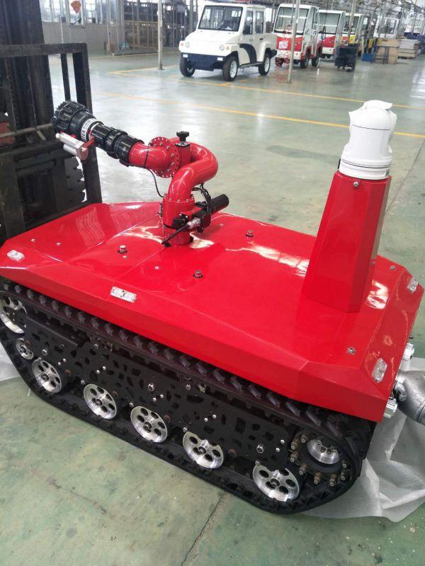 消防机器人,西安机器消防人,遥控1公里内机器人