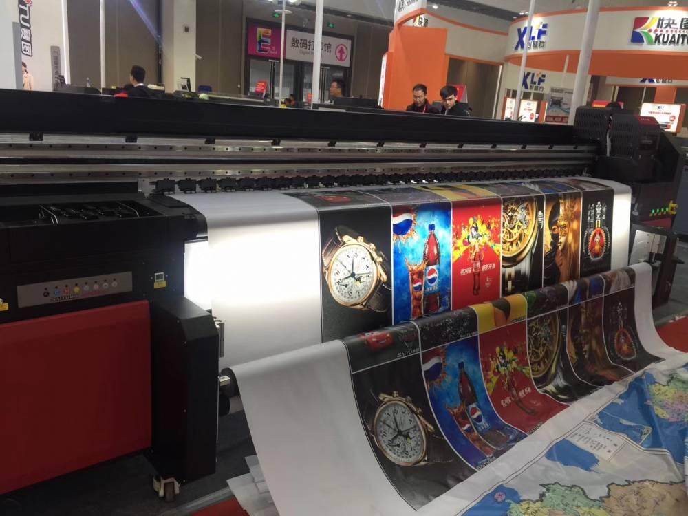 賽圖3米2理光G5UV卷材機 天花軟膜打印