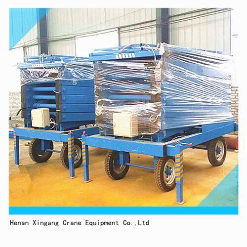 出口电动液压剪叉式升降平台生产厂家