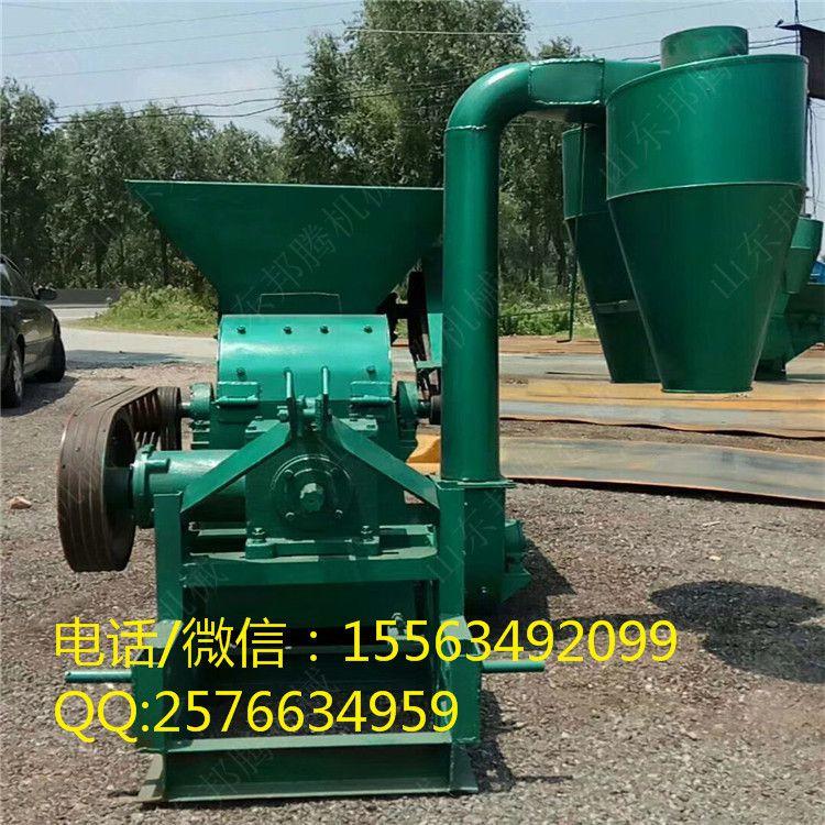 邦腾供应大型自动进料秸秆粉碎机 四轮车带动饲料粉碎机