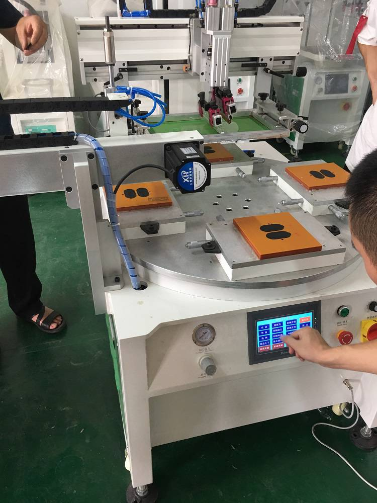 绍兴市手机壳丝印机厂家手机镜片丝网印刷机手机屏丝印加工