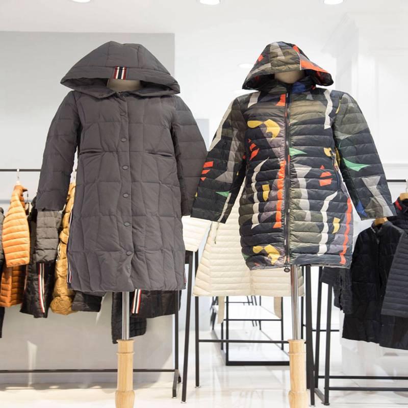 卡蘭迪冬装 女装羽绒服 品牌女装尾货批发在哪里 外贸出口尾单