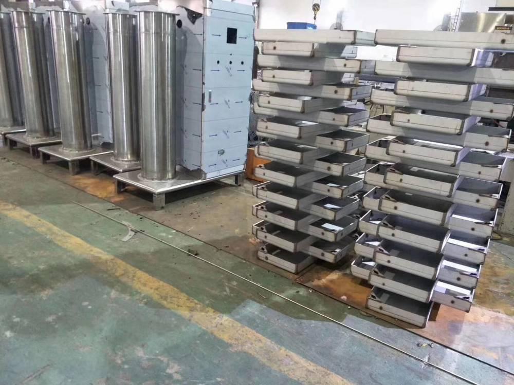304不鏽鋼制品_不鏽鋼異型材制品來圖定制_激光剪折刨加工