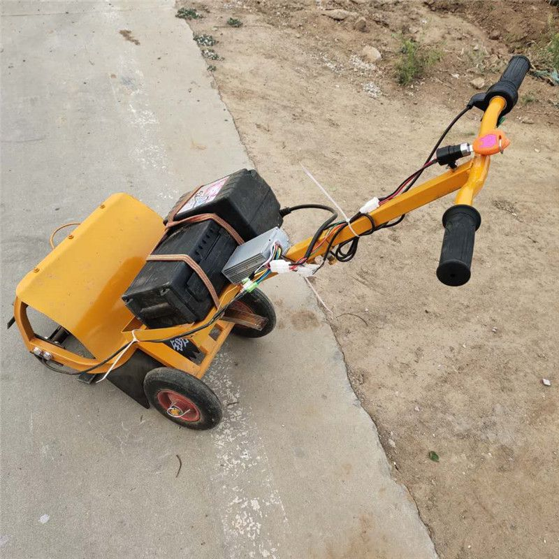 手推电动锄头 轻便型电动除草机 背负式割草机