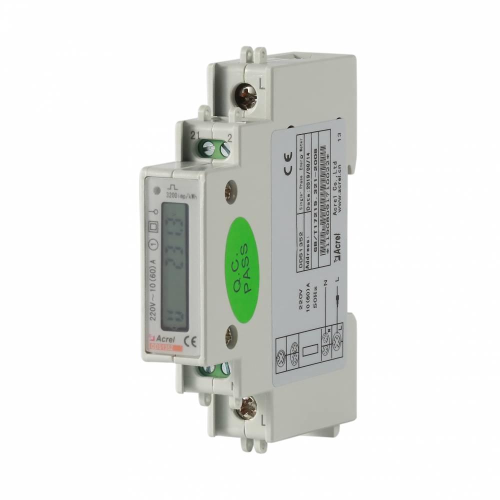 DDSD1352-C安科瑞现货通讯口RS485导轨式安装LCD显示