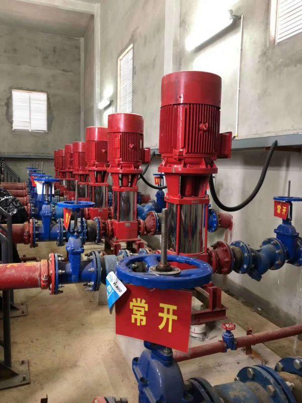消防泵供应XBD5.2/20G-L22KW3CF不锈钢