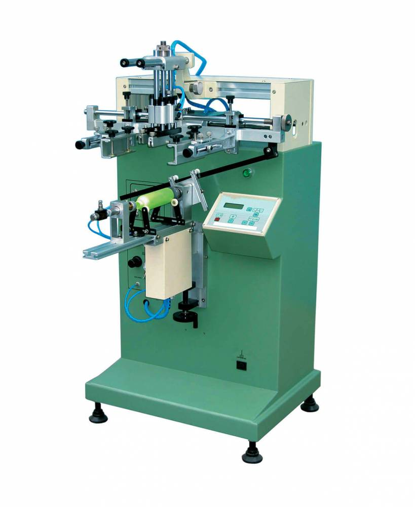 柳州笔杆曲面丝印机厂家半自动丝印机