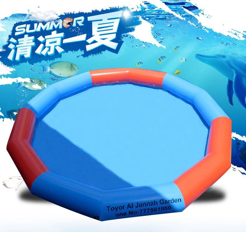 厂家充气水池 儿童水上乐园设备pvc充气泳池直销可定制 泳池充气设备哪里有卖