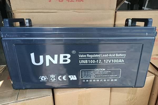 原装UNB蓄电æ±UNB65-12铅酸免维护12V65AH技术参数