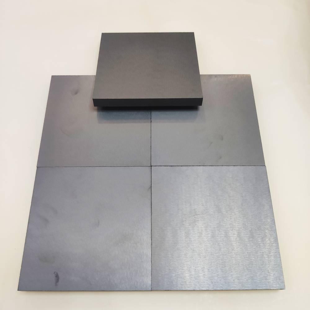 熱壓碳化硼陶瓷片 無壓B4C陶瓷板平板廠家定制