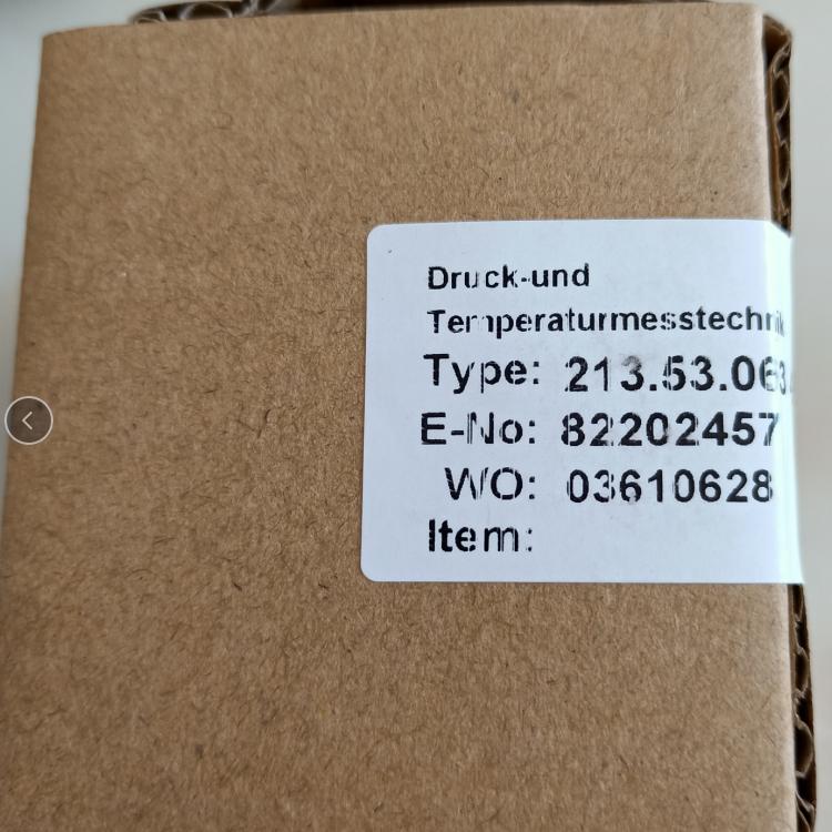 德国威卡WIKA压力表EN837-1 213.53.063