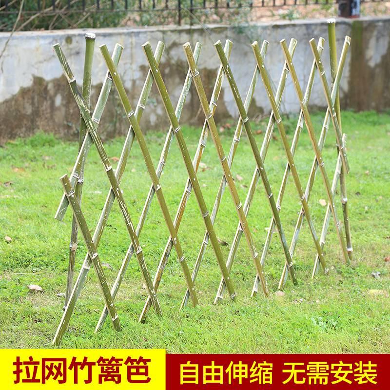 pvc草坪护栏 pvc塑钢护栏 绿化带护栏 围墙护栏 竹篱笆