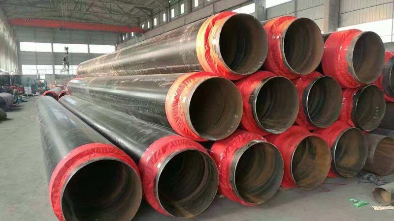 直埋保温钢管生产厂家,聚氨酯发泡保温钢管,元圣直埋保温钢管厂