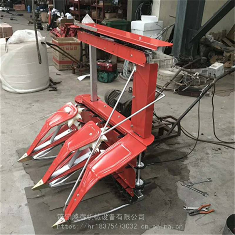 大面积青红辣椒收割机 玉米秸秆放倒机厂家 鸿睿辣椒联合收割机