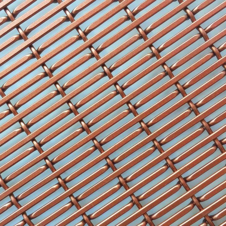 硕隆金属幕墙网 室外装饰遮阳装饰铝丝网