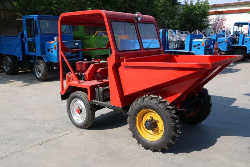 工程四轮车 前卸式运输车 载重大 两驱四驱 拉混泥土 前卸式