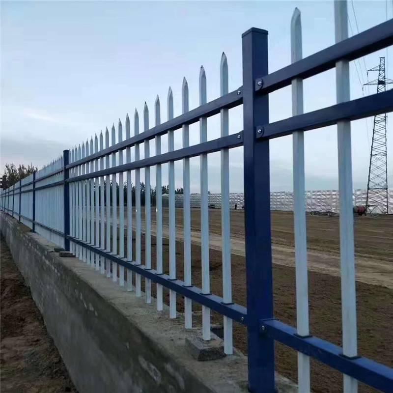 锌钢绿化护铁艺围墙护栏原材料视频