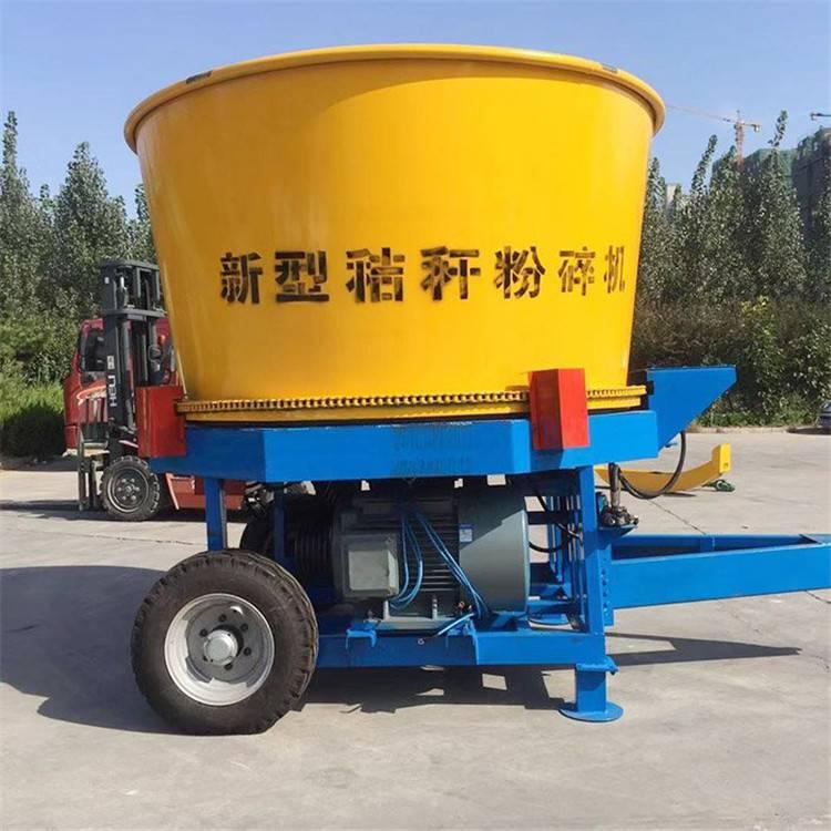 新疆牛羊草料粉碎機 產量大轉筒秸稈粉碎機 麥秸稈粉碎機