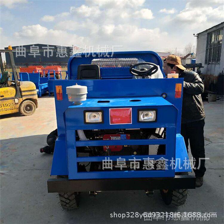 带敞篷的爬山虎 厂家新型工程四轮车 农用四轮车大马力工程