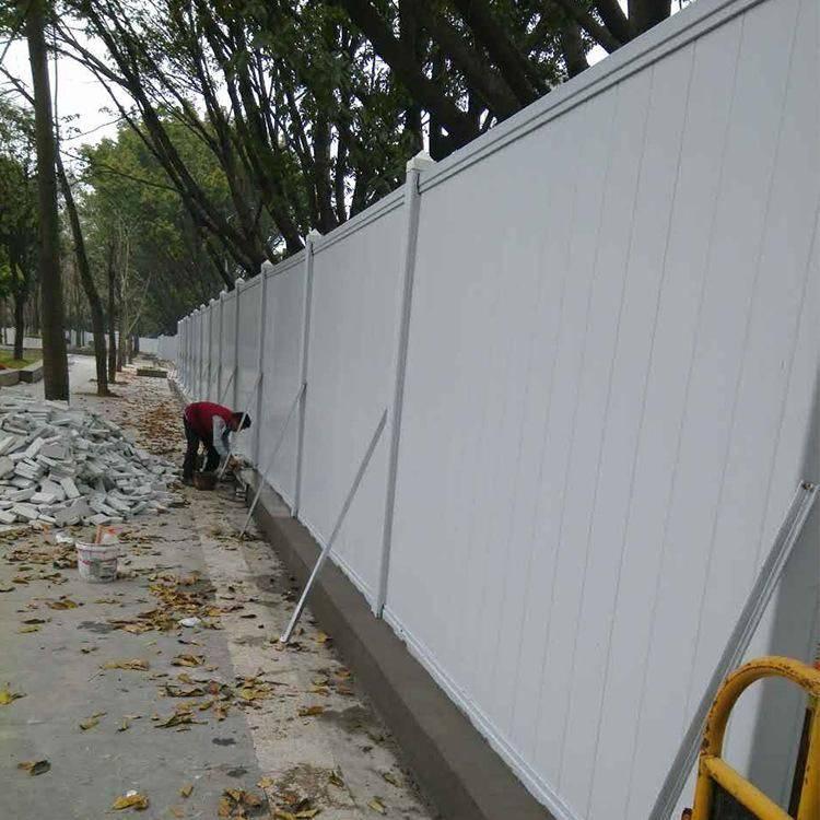 河源PVC圍擋特點、龍川簡易圍擋在售中