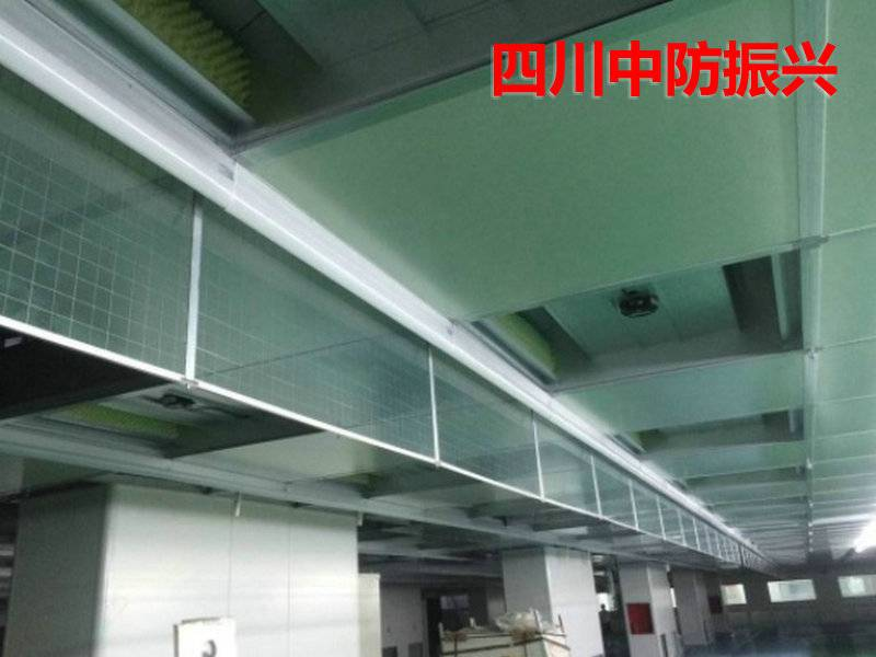四川成都固定式刚性挡烟垂壁(防火玻璃挡烟垂壁)