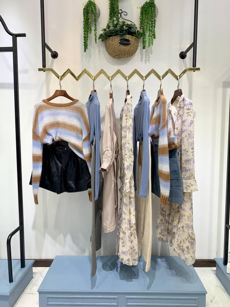 上海大牌SMM秋冬装 女装品牌折扣 一手货源 一线品牌 时尚韩版