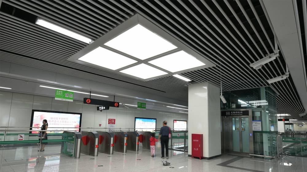 定制款办公照明LED面板灯拼接灯线性灯LED平板灯