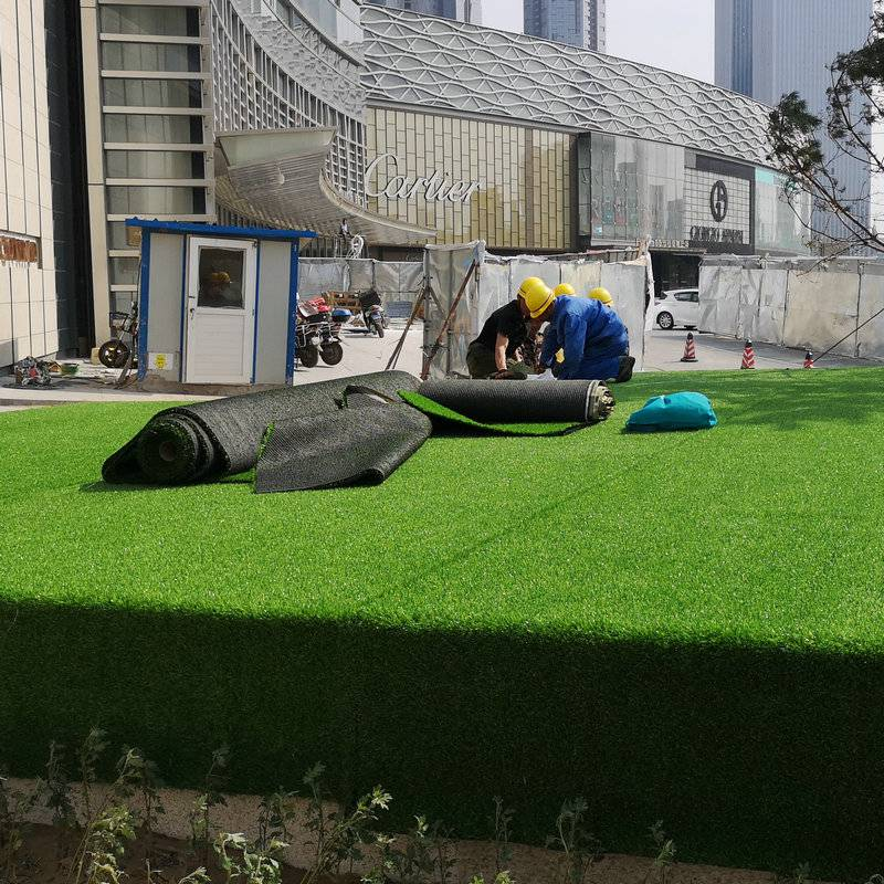 草坪生產車間工程草坪圍擋草坪人造草坪假草坪綠化草坪