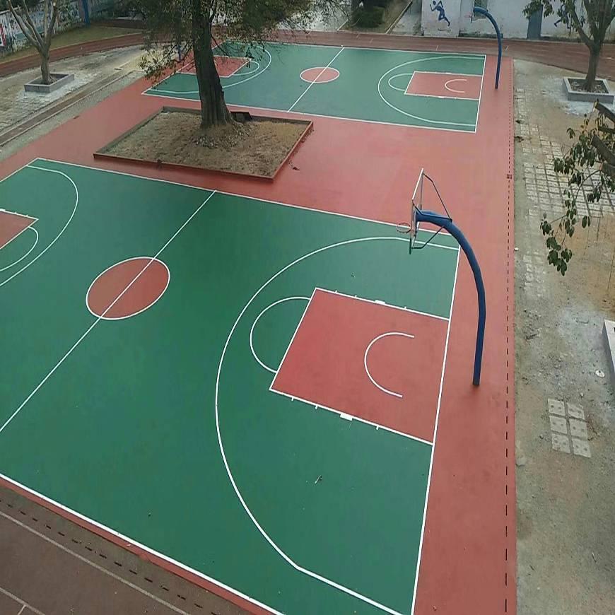 塑料篮球场塑胶篮球场,悬浮式拼装地板篮球场图片