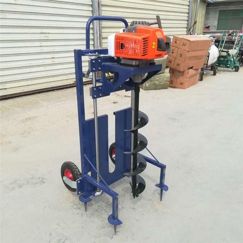 移动电信杆子打洞机-金佳大棚立柱埋桩机-果树种植挖坑机厂家