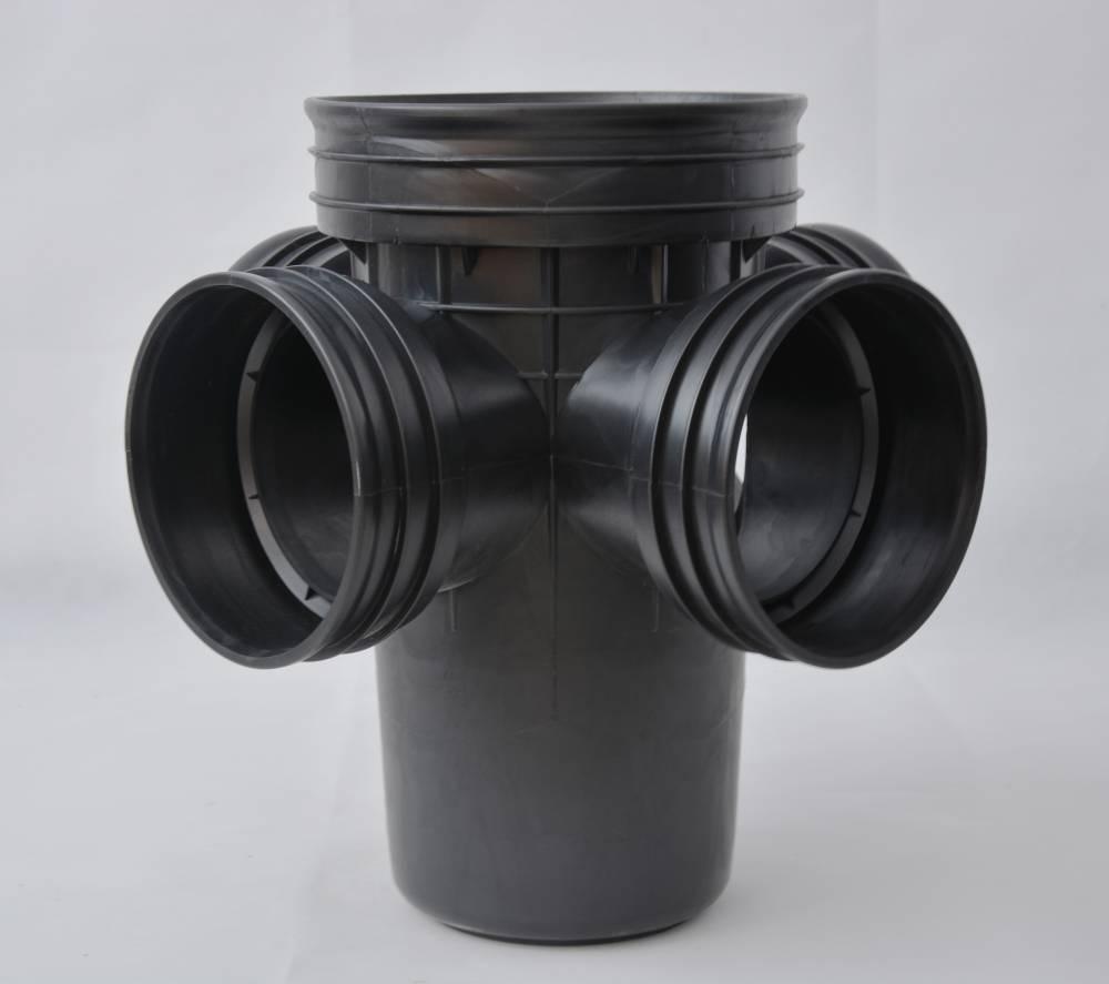 檢查井連接方式/pe滲透式雨水檢查井/汙水直通塑料井座