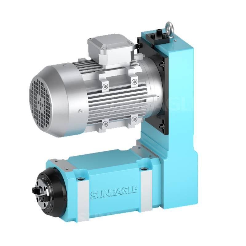 厂家直销 钻孔钻削动力头万向卧式气动型高精度 高转速 高效精品