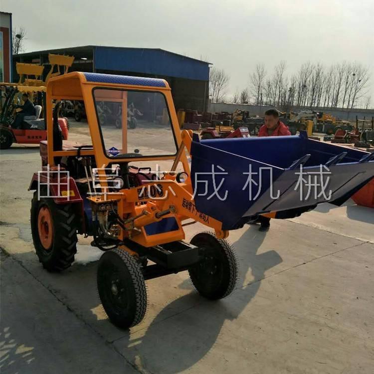 志成ZL06小型轮式装载机 农用单缸小铲车 小四轮装载机