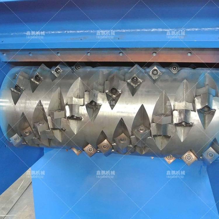 藍桶撕碎機生産線鑫鵬機械