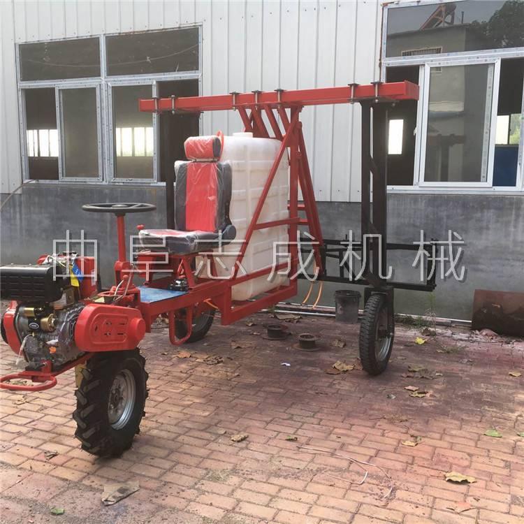 三轮自走式打药机 高杆作物专用打药机 喷洒高度可调节的喷药机