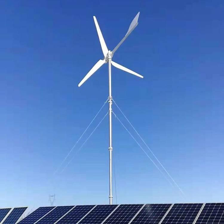 2KW并网风力发电机工作视频