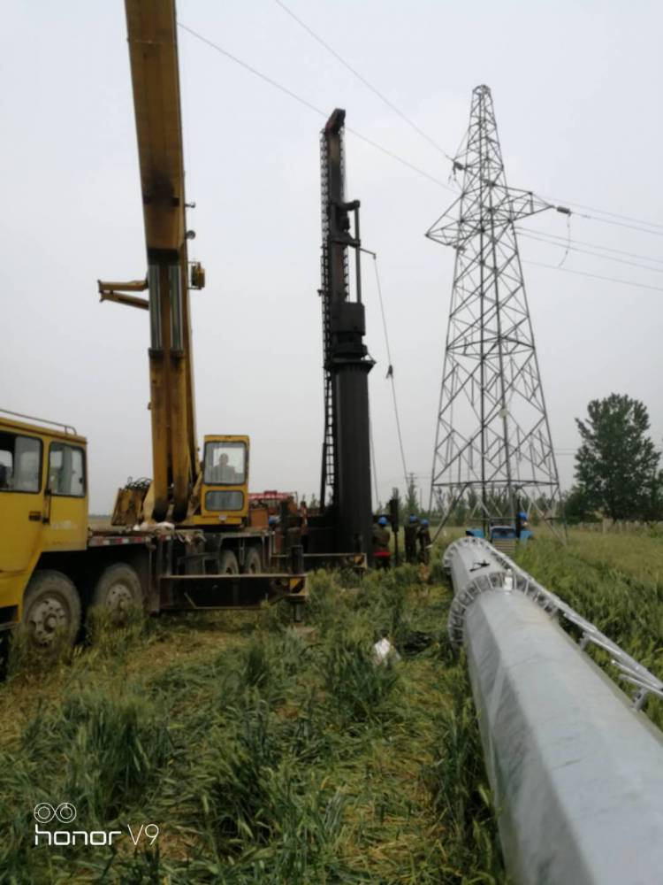 日照 35kv电力钢管塔 66kv 电力钢管杆