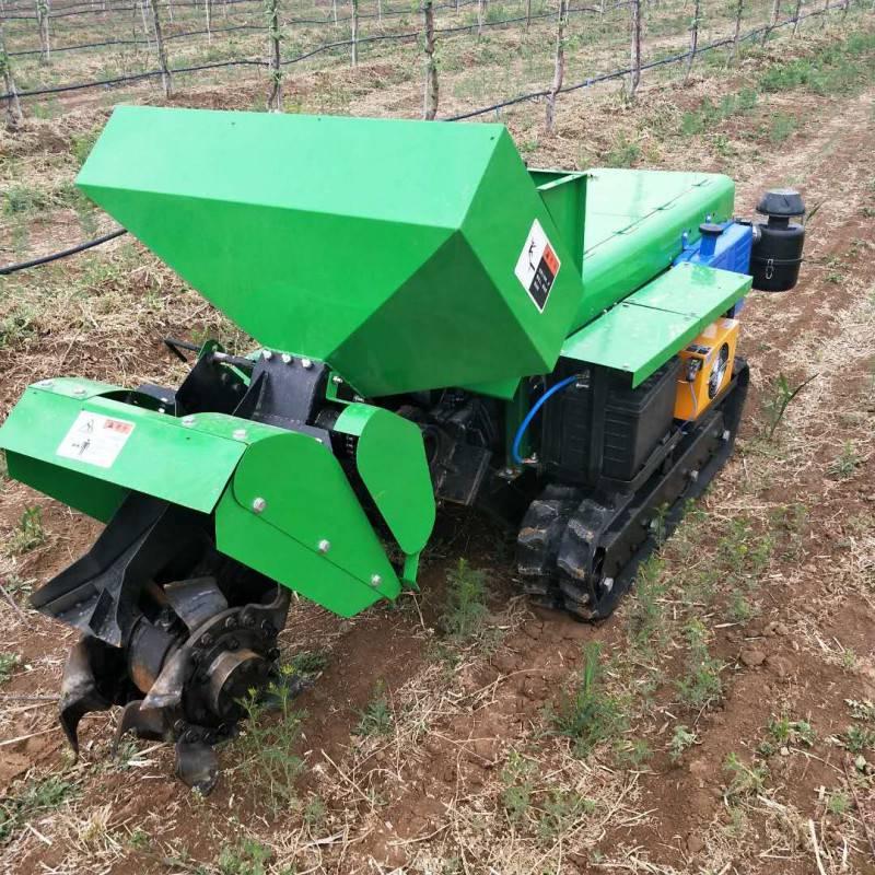 农业耕地机履带式除草回填机 多用途施肥机价格 专业开沟机