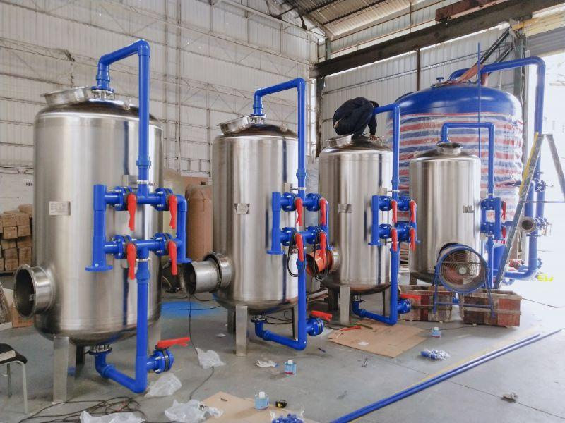 新农村一体化净水设备 山泉水地下水澄清水质过滤器