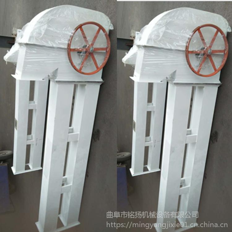 小麦垂直瓦斗提升机厂家 塑料斗带式斗式提升机直销价