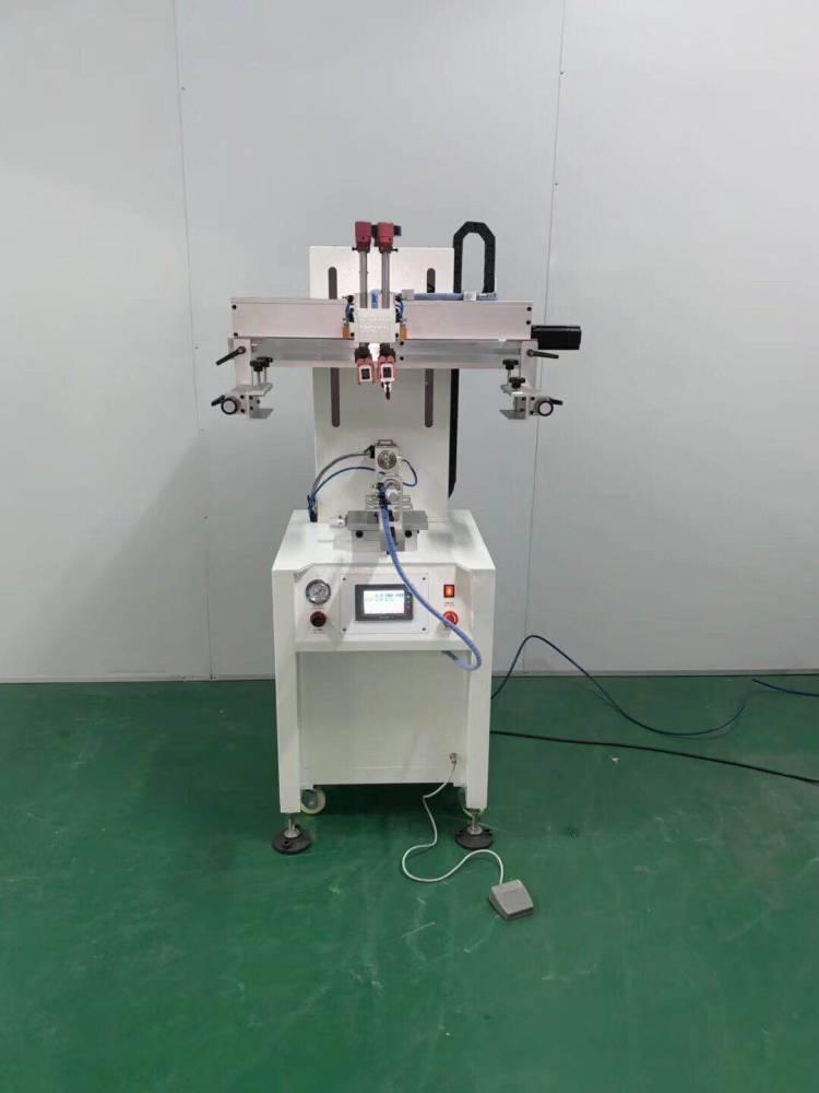 广安化妆笔平面丝印机厂家半自动丝印机