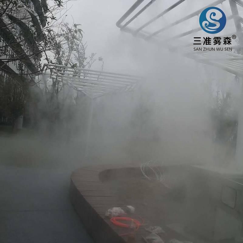 雾森设备可以用于工业降尘吗