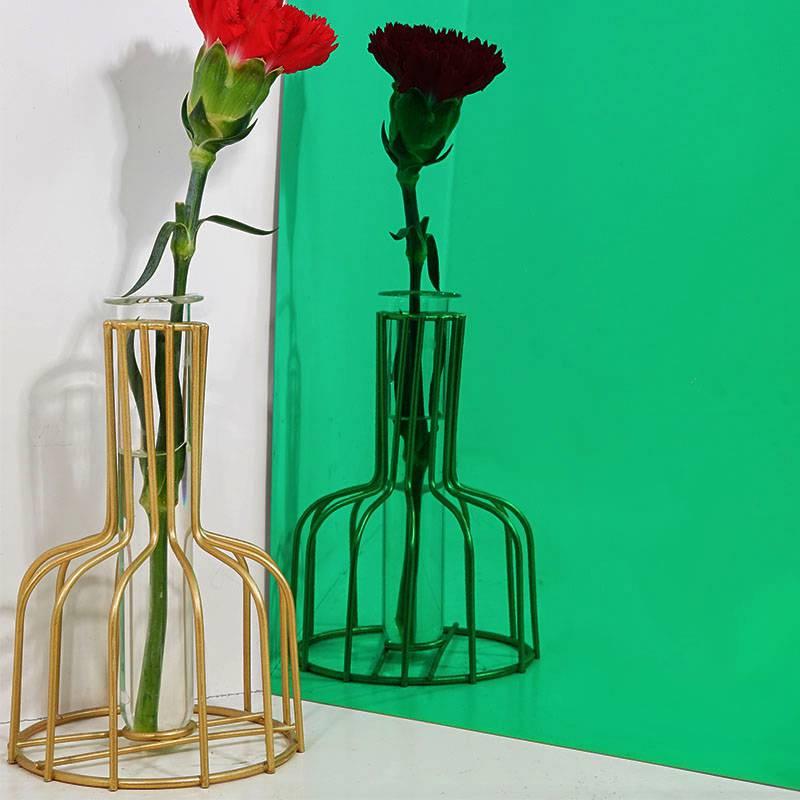 镜面翡翠绿不锈钢装饰板